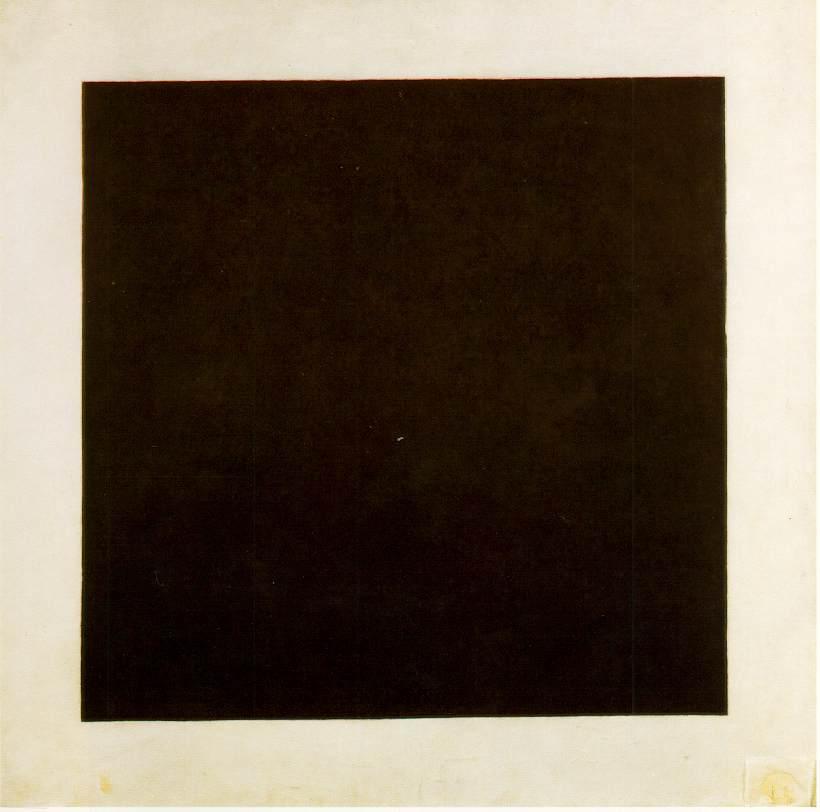 画像_カシミール・マレーヴィチ「黒の正方形」
