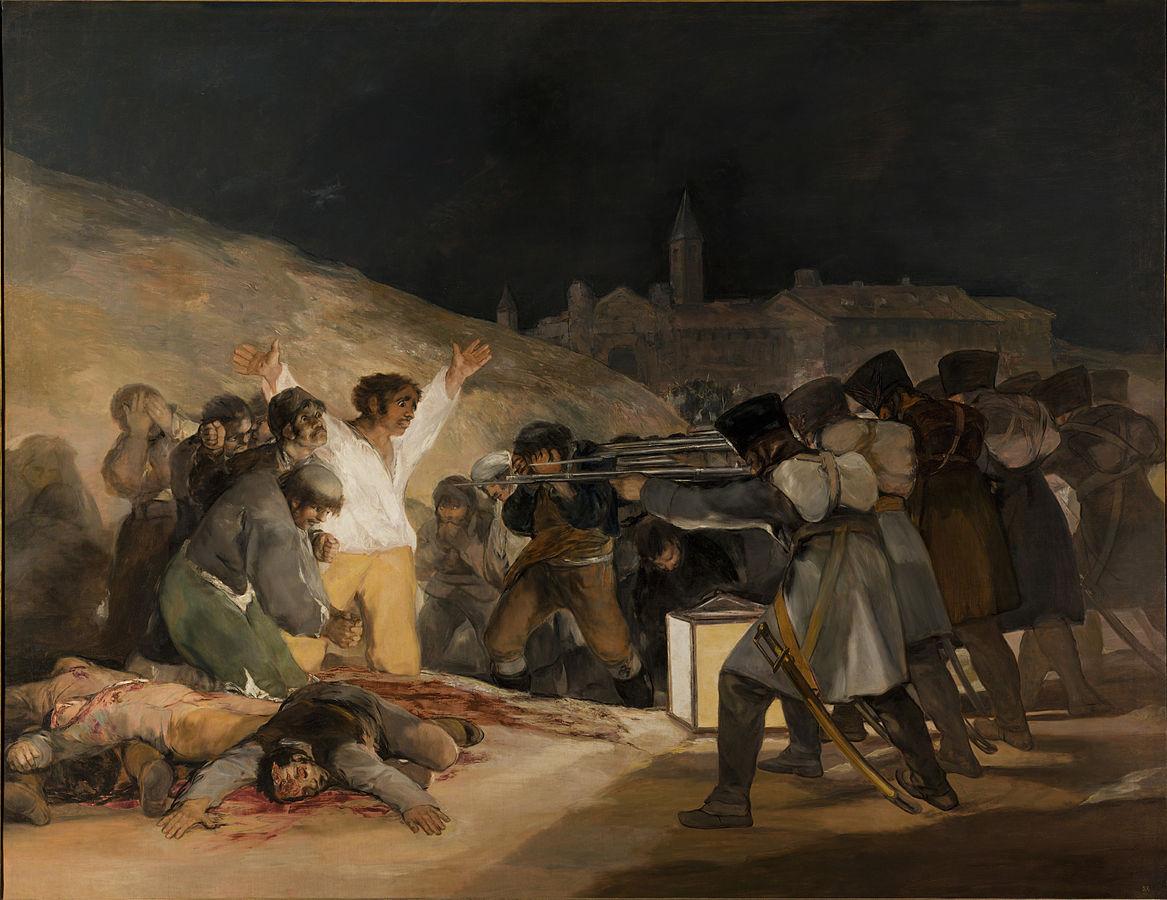 画像_フランシスコ・デ・ゴヤ「マドリード、1808年5月3日」