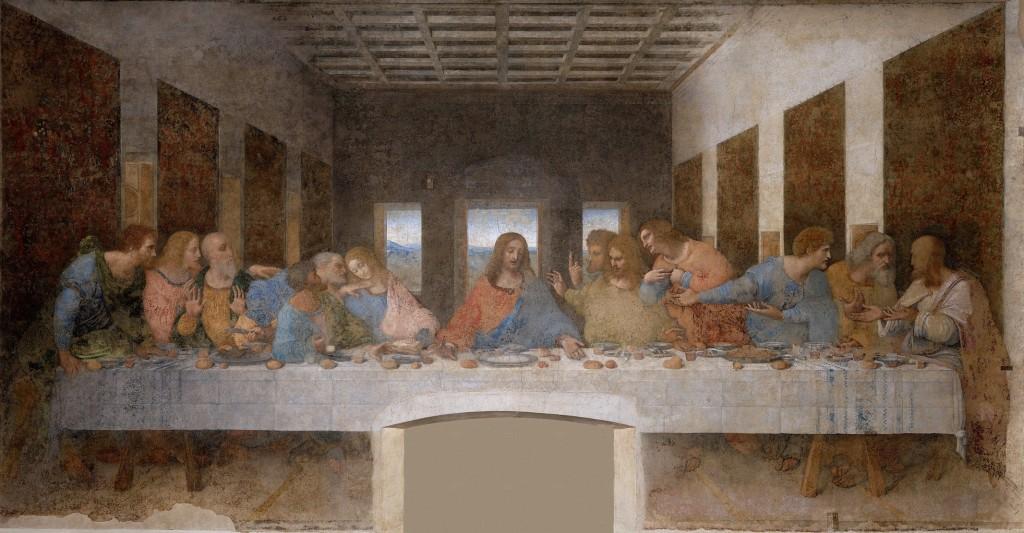 画像_レオナルド・ダ・ヴィンチ「最後の晩餐」