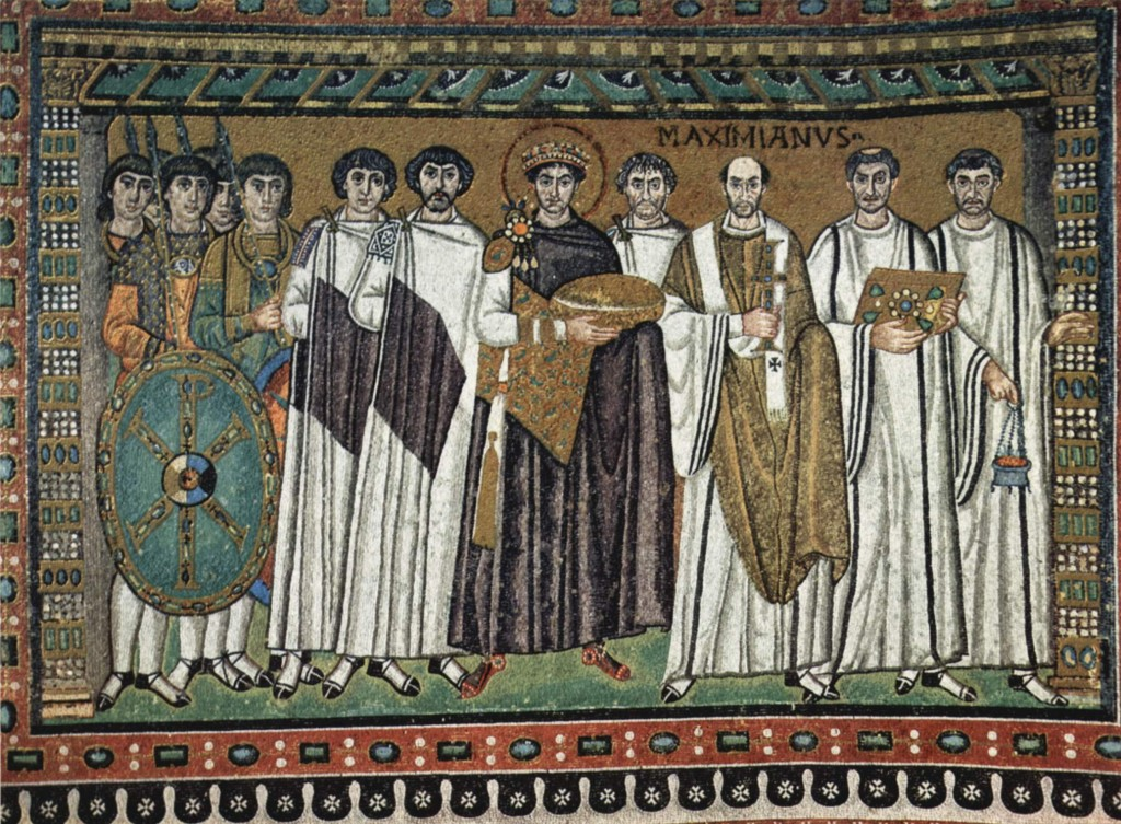 画像_ユスティニアヌス1世と随臣
